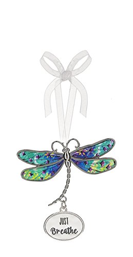 (Ganz Just Breathe Colorful Wings Dragonfly Ornament -)