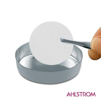 AHLSTROM FILTRATION 169W-0470 Borosilicate Glass Grade 169 Pre-Weighed and Washed Filter Paper, 47 mm Diameter (Pack of 100) by AHLSTROM FILTRATION