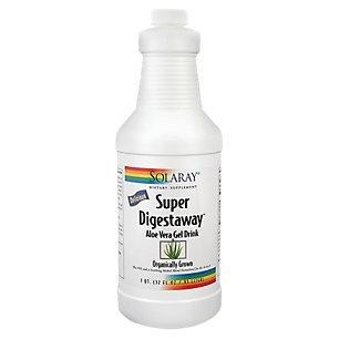 Solaray Super Digestaway Aloe Vera Gel Drink, 32 fl oz ()