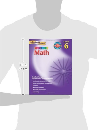 Spectrum Math, Grade 6: Thomas Richards: 0087577913964: Amazon.com ...