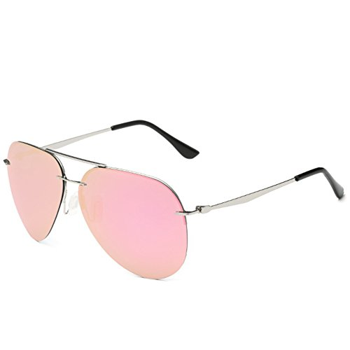 Syka Premium Colorful Reflective Mirror Lens Metal Frame Aviator - Service Number Customer Polaroid