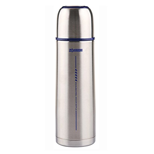 Zojirushi Thermal Stainless Vaccum Bottle 0.5 liter ( 16.9 oz. ) | SV-GG50-XA Silver (Japan Import) by Zojirushi