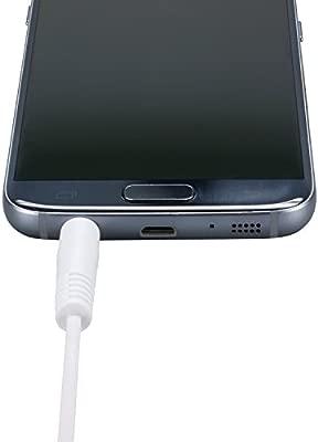 ecabo 10025 Cable Jack Alargador 3,5mm macho a hembra Auxiliar Audio Estéreo HiFi para conectar su iPhone, iPod, smartphone ó MP3 a la radio del ...