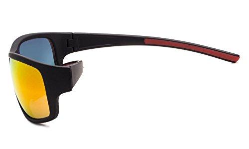 Bifocales Gafas 2 Gafas Rojo 50 Strength De Rojo Sol Espejo Espejo Sol De Lectura Eyekepper RSxfwqHdq