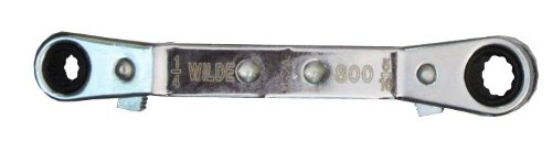 (Wilde Tool 800 Offset Ratchet Box Wrench, 1/4 inch x 5/16 inch)