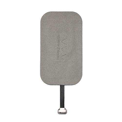 (NENRENT Compatible for Android Mobile Samsung Galaxy S7/ S7 Edge HTC LG VIVO X6 Qi Wireless Charger Receiver Ultra Slim Micro USB Universal Charging Receiver Patch Module (Android B))