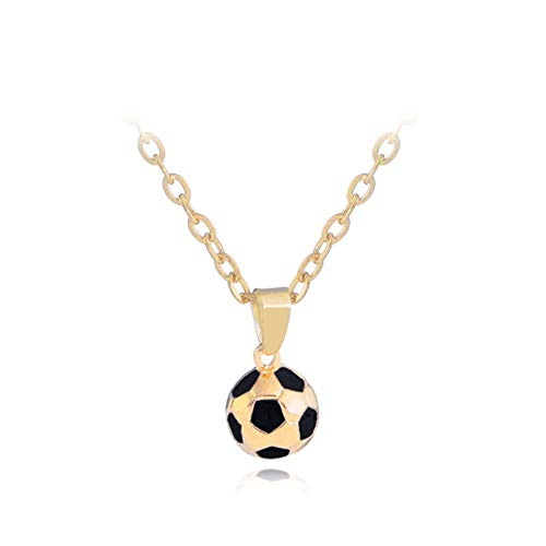 (AILUOR 2018 World Cup Jewelry Gift, Football Soccer Ball Pendant Necklace for Women Men Girls 20