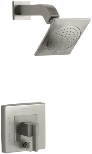 KOHLER K-T14665-4-BN Loure Rite-Temp Shower Trim with Diverter, Vibrant Brushed Nickel by Kohler