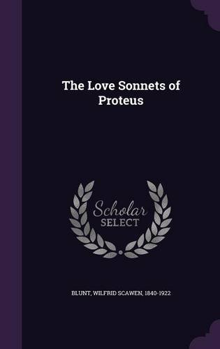 The Love Sonnets of Proteus PDF