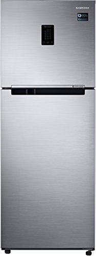 Samsung 321 L 2 Star Frost Free Double Door Refrigerator RT34M5515S8/HL, Elegant Inox  Disty Excl , Convertible, Inverter Compressor