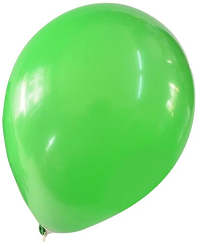 Green Latex Balloons (Homeford Premium Latex Balloons Plain Color, 12-Inch, Apple Green, 12-Pack)