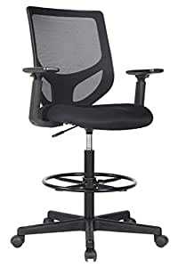 Amazon Com Drafting Chair Tall Office Chair For Standing