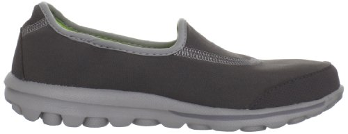 2 Nordic Nero 42 charcoal Walking Scarpe Walk Eu Skechers Donna Go EqIF0w