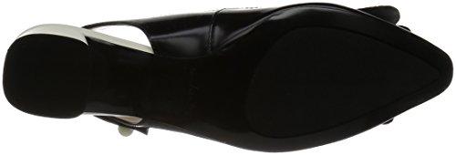 Negro Clarks de swixties Sling para corte zapatos mujer abierto xF8xYr4qw