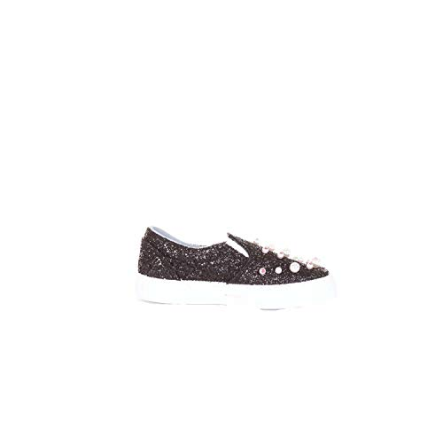 Donna Nero On Slip Paillettes Sneakers Cf1693black Ferragni Chiara xqgawBI