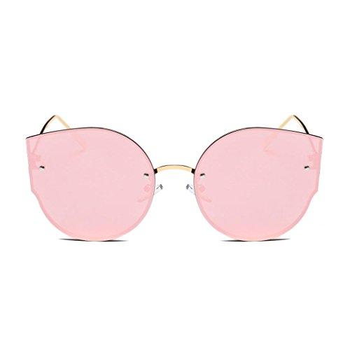 espejo Color Classic estilo marca ojo Vintage Gafas de de D Retro gato sol de Winwintom de g5w6qw4
