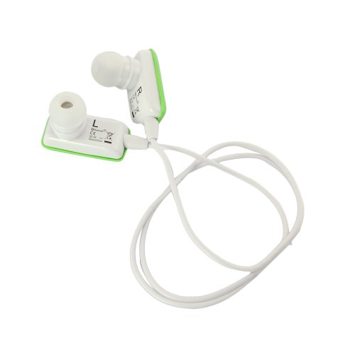DBPOWER Mini Green Lightweight Bluetooth Wireless Stereo Sports/Running & Gym/Exercise Bluetooth Earbuds Headphones Headsets w/Microphone for Bluetooth Enable Devices + Earhooks