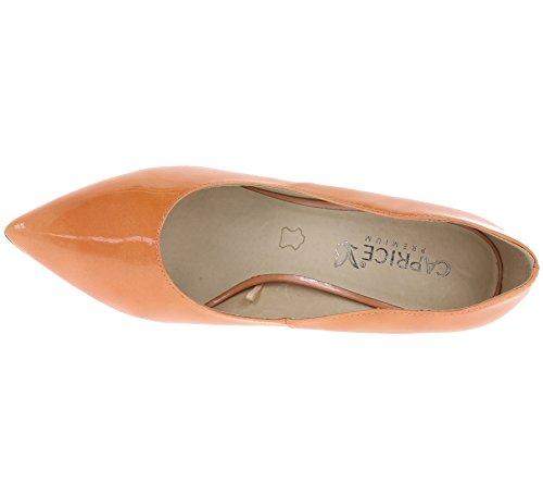 Femme Caprice Escarpins 22402 Escarpins Orange Orange Femme Caprice 22402 Pt7WZnwq