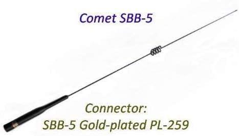 [해외]SBB-5 SBB5 Comet Original 146446 MHz Dual Band Mobile Antenna / SBB-5 SBB5 Comet Original 146446 MHz Dual Band Mobile Antenna