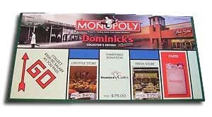Monopoly - Dominick's Collector's Edition (Chicago Area Grocery Chain)