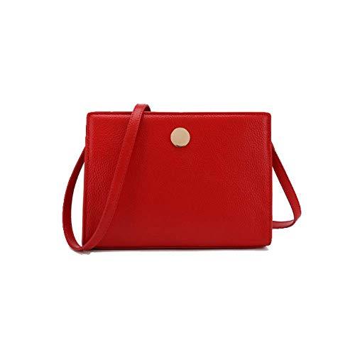 Simple Mesdames À Pratique Style Diagonal Sac Épaule Grande Rétro Capacité Red Une Femme Sauvage Ajlbt Fqv1w4v