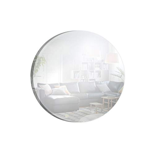 Round Mirror Centerpiece for Wedding Decorations & Dining Table Centerpieces (16 Inch, Pack of 10) ()