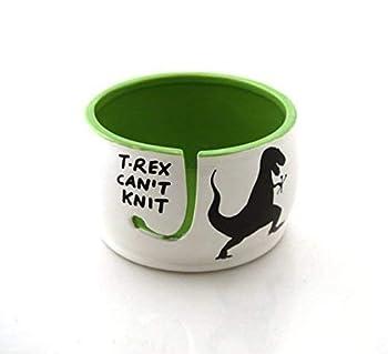 Lennymud T-Rex Yarn Bowl