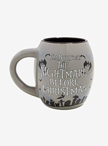 The Nightmare Before Christmas Pumpkin King Oval Mug -