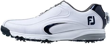ゴルフシューズ FJ ULTRA FIT XW Boa メンズ ホワイト/ネイビー(19) 24.5 cm 4E 54183J