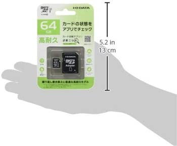 / O Data MicroSD Memory Card GB//UHS-I UHS Speed Class 3/ Compression//Heavy Duty//MSD/  I/  / ima64g