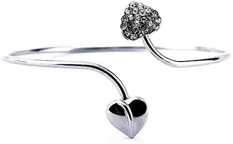 Image ofYolandabecool - Pulsera de dos corazones