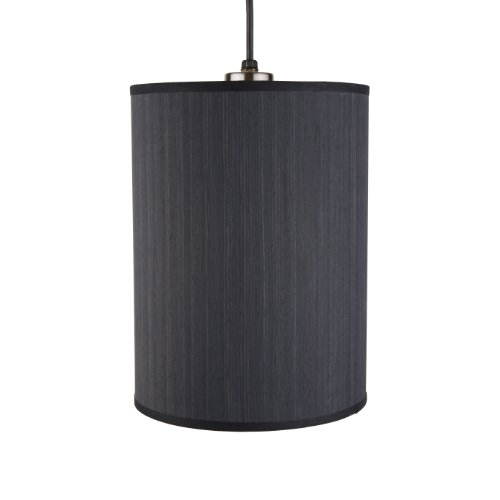 Lights Up! RS-9200BN-EWD Meridian Small Pendant Light, Brushed Nickel Finish
