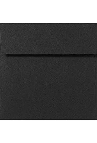 6 1/4 x 6 1/4 Square Envelopes - Midnight Black (50 Qty.)