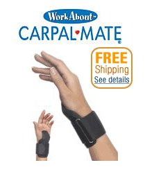 Carpal Mate Wrist Support – Black, Health Care Stuffs