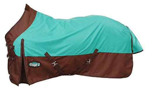 Tough-1 Premium 1200 Denier Waterproof Medium/Heavy Weight Nylon Turnout Blanket - 300g Fill (Turnout Weight Medium)
