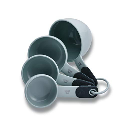KitchenAid KE475OHGSA Classic Measuring Cups And Spoons Set, Set of 9, Gray