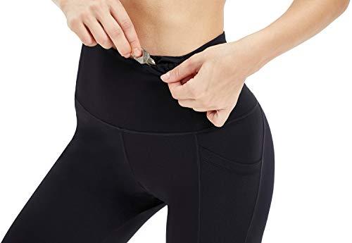 10d9ca1f2babc Persit Women's Premium Yoga Pants with Pockets, Non See-Through Tummy  Control 4 Way