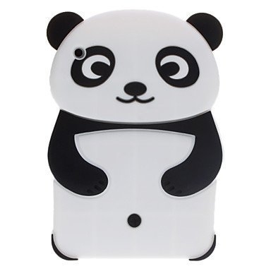 iPad Mini Case,Phenix-Color 3D Cute Soft Silicone  Panda T