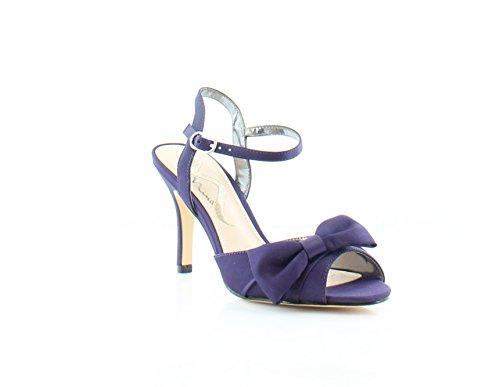 Grape Luster Satin (Nina Vashti Women's Heels Grape Luster Size 6.5 M)