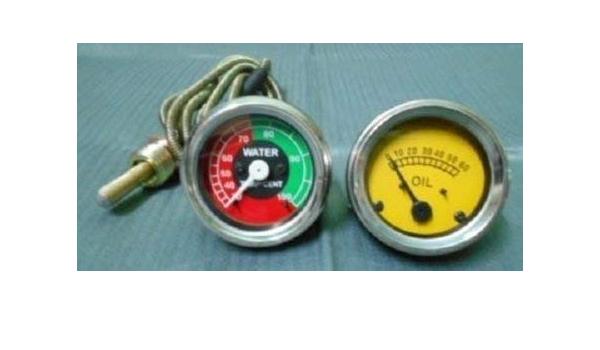 Massey Ferguson TE20,TO20,TO30,T035,F40,TEF20,135 Oil Pressure Temperature Gauge