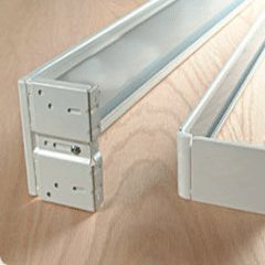 """66"""" - 120"""" Adjustable Length With 2 1/2"""" Dia Continental Curtain Rod From Kirsch"""