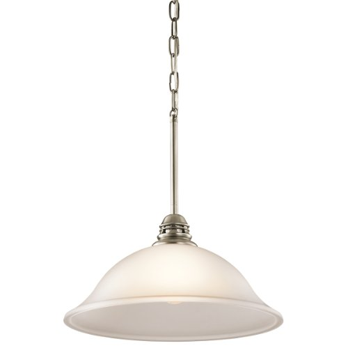 Hastings Transitional Chandelier (Kichler 42071APW One Light Pendant)