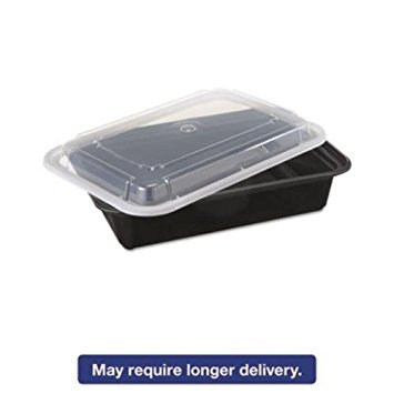 Newspring NC888B STORAGE STACKABLE CONTAINERS