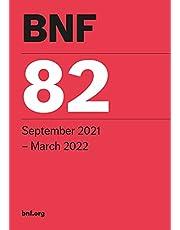BNF 82 (British National Formulary) September 2021