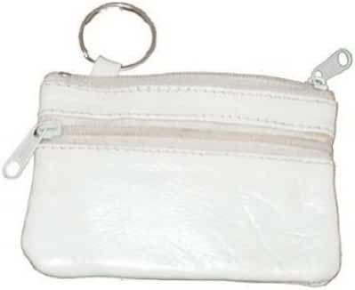 Marshal Women's Leather Change Purse with Key Ring