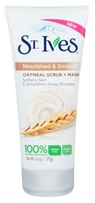 St Ives Scrub Oatmeal Facial Mask 6 Ounce (177ml) (6 (Best St. Ives Natural Face Masks)