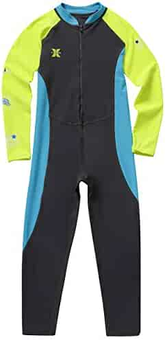 21a39d23a3 Gogokids Kids Long Sleeves Swimsuit - Boys Girls One Piece Sunsuit Swimwear