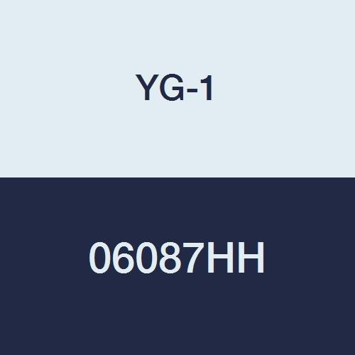 5//8 6-1//8 Length 4 Flute YG-1 06087HH HSS End Mill Extra Long Length Hardslick Finish