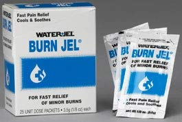 Water-Jel Technologies 3.5 Gram Unit Dose Packet Burn Jel Topical Gel (25 Per Box) by Water-Jel Technologies