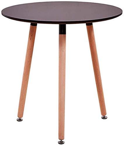 MJK Mesas, comedor Eiffel Designer 70Cm redondo pequeño, patas de ...